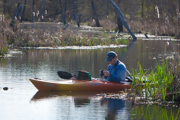 Jordan Lake - Kayak-1
